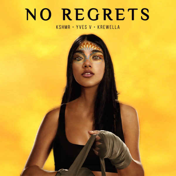 KSHMR & Yves V - No Regrets (feat. Krewella) cover art