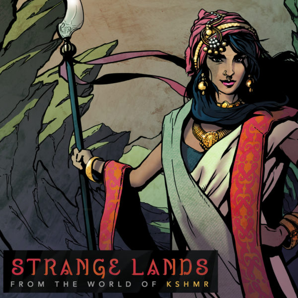 KSHMR - Strange Lands cover art
